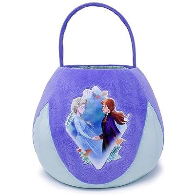 Disney Frozen Elsa and Anna Medium Plush Basket, Multi: Toys & Games