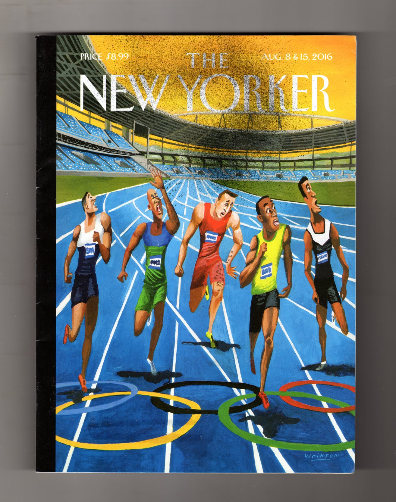New Yorker Magazine August 8 & 15 2016  Something in the Air PDF