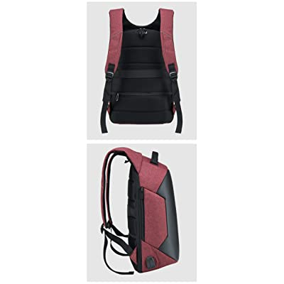 977a19ed4755 HS Magnet Anti Theft Business Laptop Backpack with USB Charging Port ...