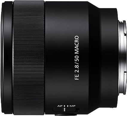 Sony Sel 50m28 Makro Objektiv Schwarz Kamera