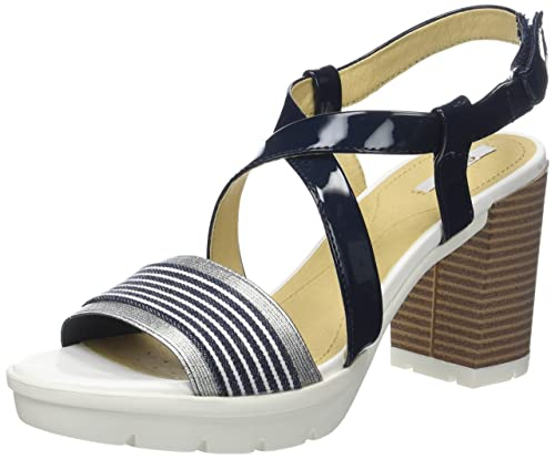 008d49efe59f Geox Women s D Gintare B Open Toe Sandals  Amazon.co.uk  Shoes   Bags