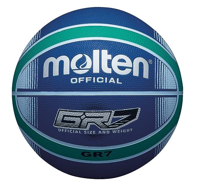 MOLTEN Basket Ball-Pelota de Baloncesto (Talla 7), Color Rojo ...