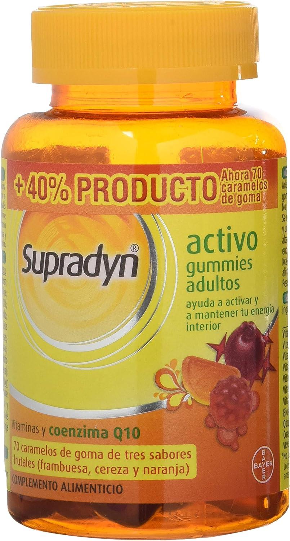 BAYER Supradyn activo gummies adultos 70 caramelos