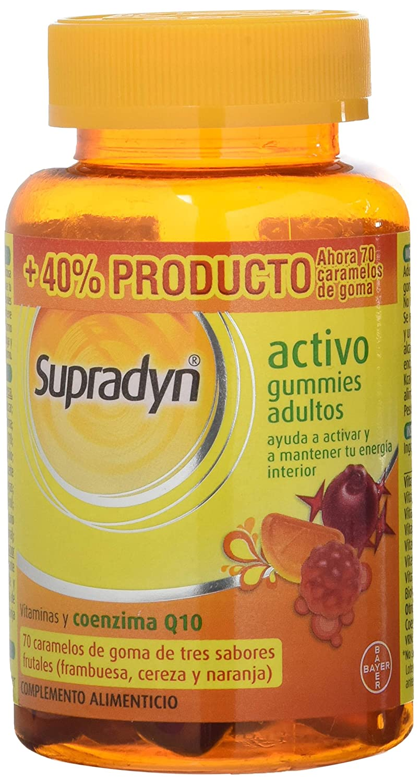 BAYER Supradyn activo gummies adultos 50 caram