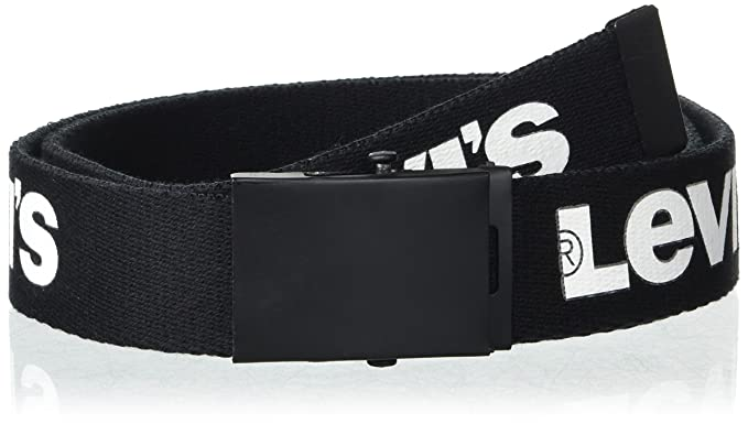 d472647e6e937f Levi's Men's Military Web Belt - Casual for Jeans Adjustable One sizee  Cotton Strap and Metal
