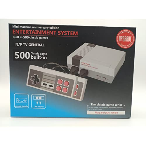 Retro NES mini 500 Preloaded 500 classic games Game-pad with Rapid Fire buttons