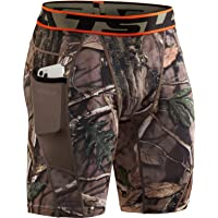 TSLA 1, 2 or 3 Pack Men's Athletic Compression Shorts, Sports Performance Active Cool Dry Running Tights