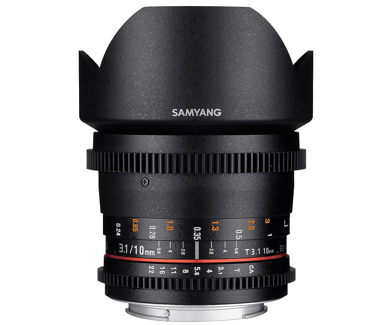 SAMYANG 動画用単焦点超広角レンズ VDSLR 10mm T3.1 キヤノン EOS M用 APS-C用 EOS M  B00RPD6S4M