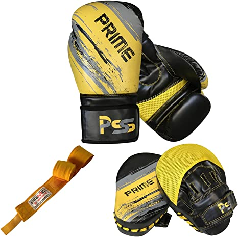 Adultos guantes de boxeo de entrenamiento para Focus Pad MMA ...