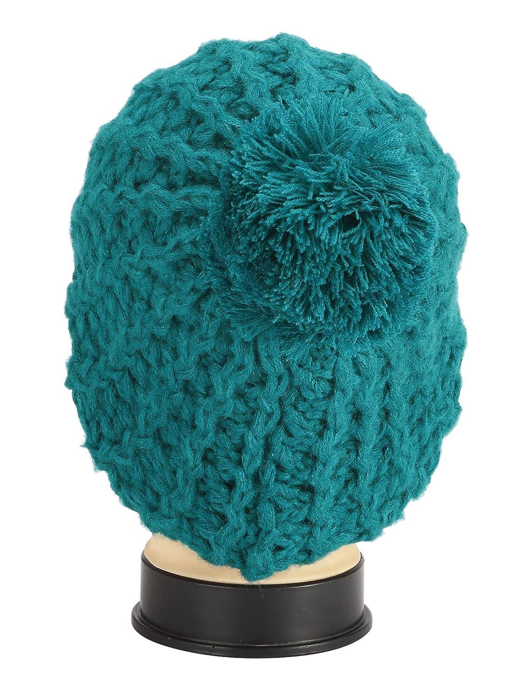 Chapeau tricoté Liesel dans Bonnet d'hiver avec pompon beaucoup de couleurs Bonnets 245 TOP NOUVEAU
