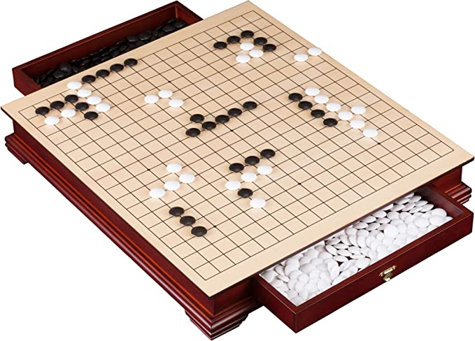 Philos 3227 Puzzle Games Go & Go Bang, Mesa, Multicolor ...