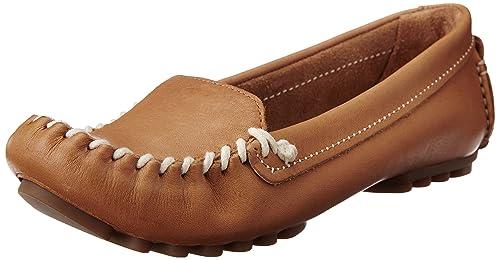 Clarks Evesham Melody - Mocasines de Cuero Mujer: Amazon.es: Zapatos y complementos