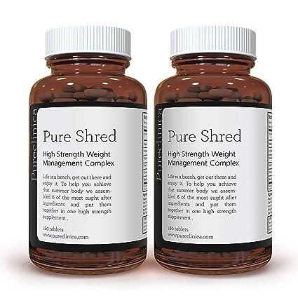 Quemagrasas Puro x 360 Comprimidos (5 ingredientes principales para el control de peso: 1000