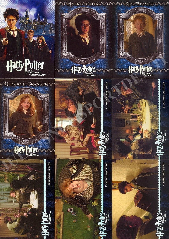 Complete 90 Basic Cards Set Harry Potter Prisoner of Azkaban Binder #2 91-180