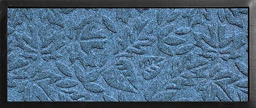 AquaShield Fall Day Boot Tray, 15 by 36-Inch, Bluestone