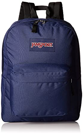 JANSPORT SUPERBREAK BACKPACK SCHOOL BAG – Navy Blue