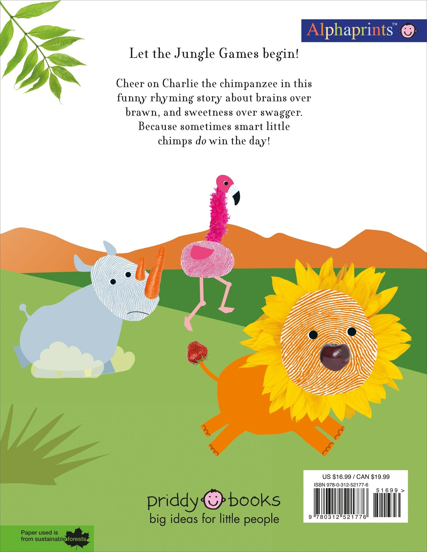 Charlie The Champ An Alphaprints Picture Book Animal Opposites 9780312521776 Roger Priddy Books