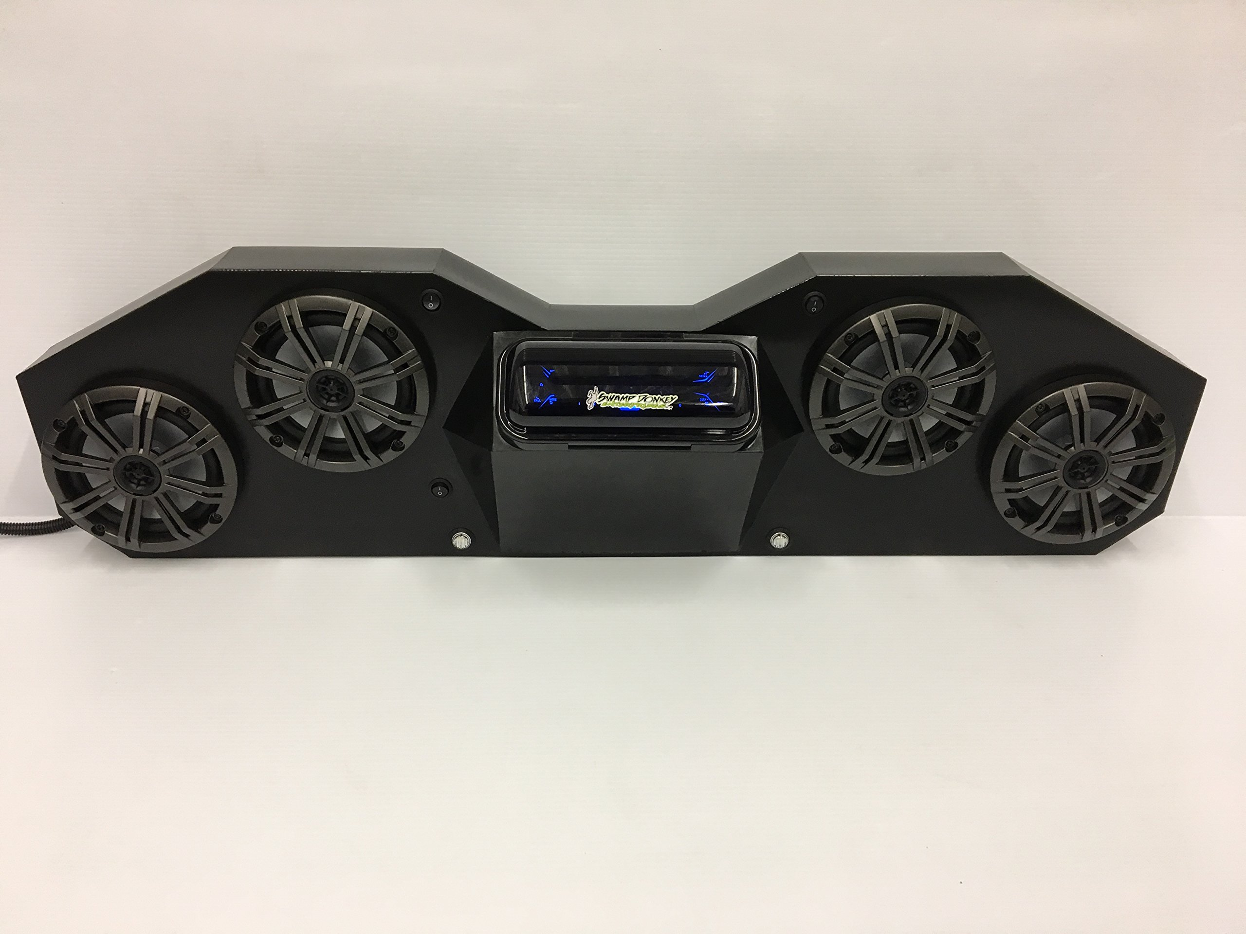 SD CABBT4B -CanAm Maverick & Commander Stereo System Bluetooth UTV Side by Side (4-6.5'' marine speakers) by Galena