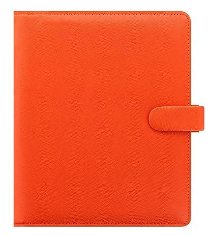 Filofax 22585 Agenda, A5 Saffiano Bright, Naranja: Amazon.es ...