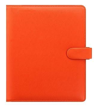 Amazon.com : Filofax A5 Saffiano Organizer- Bright Orange ...