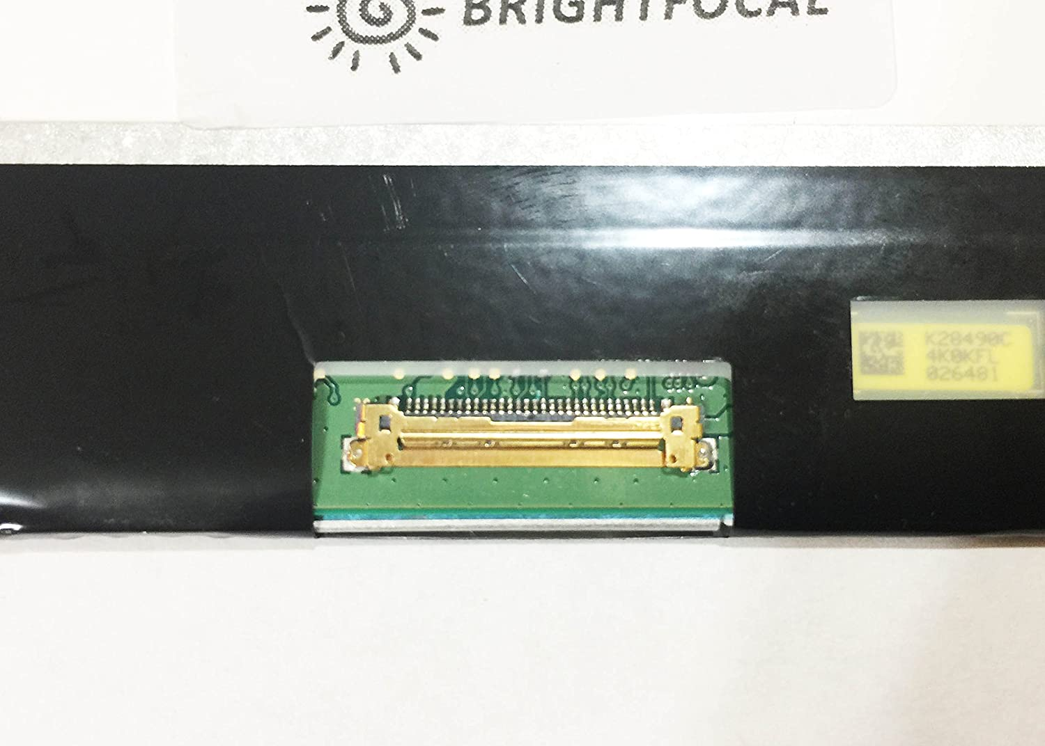 BRIGHTFOCAL New Screen for INSPIRON 15 5555 5558 5559 Series 30PIN Non-Touch 15.6 HD WXGA EDP Slim LED Replacement LCD Screen Display