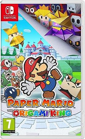 Paper Mario: The Origami King - [Versión Inglesa - Plurilingüe]: Amazon.es: Videojuegos