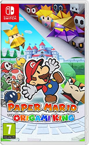 Paper Mario: The Origami King: Amazon.es: Videojuegos