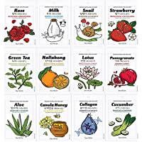 Korean Skin Care Face mask Sheets The YEON Everyday Natural Care Essence Mask Sheet Pack of 12