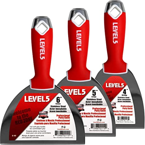 Amazon.com: Pack de 3 cuchillos de acero inoxidable de grado ...
