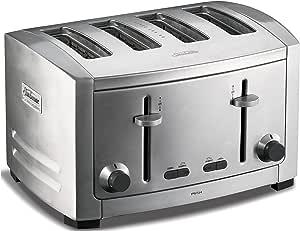 Sunbeam Cafe Series 4 Slice Toaster, Stainless Steel