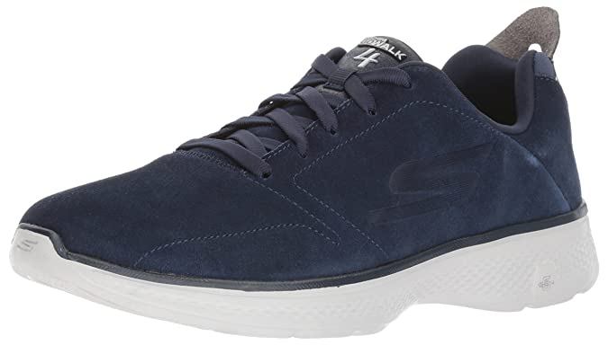 Herren Walkingschuhe Blau Blue/Black, Blau - Blue/Black - Größe: 45 Skechers