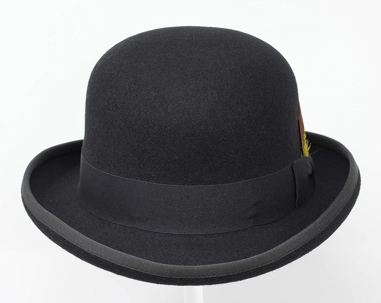 100/% Fieltro de Lana Borges /& Scott Premium Orwell Sombrero de Hongo o Bomb/ín