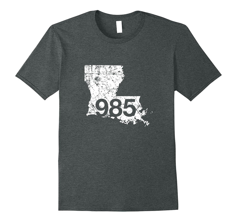 Bogalusa Galliano Laplace Area Code Shirt Louisiana Teesoki - Area code 985