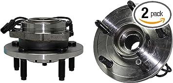 Wheel Hub /& Bearing Front Left /& Right Pair for Dodge Durango Chrysler Aspen