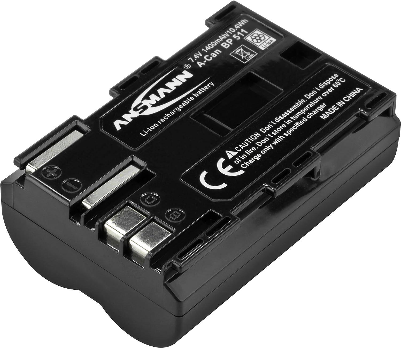 Ansmann Kamera Akku Bp 511 Li Ion 7 4v 1400mah Ideal Kamera