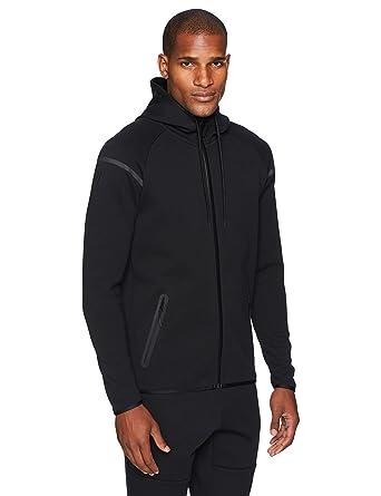 b95e90a9be4c Amazon.com  Peak Velocity Men s Metro Fleece Full-Zip Athletic-Fit ...