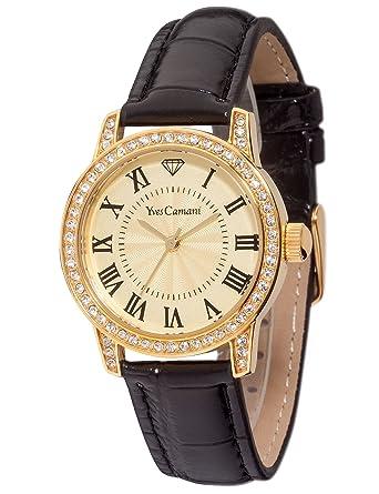 26bcb5297b Montres Bracelet - Femme - Yves Camani - G4G4YC1075-B: Amazon.fr ...