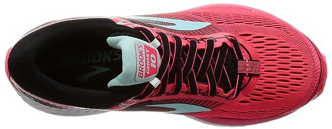 Amazon.com | Brooks Womens Ghost 10 Diva Pink/Black/Iceland Blue 5.5 B US | Running