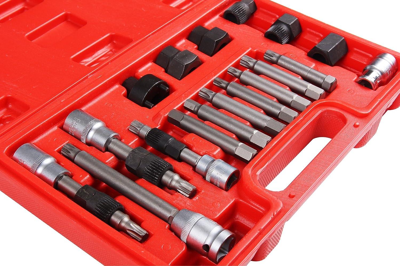 18/piezas Kit de polea de alternador Polea de alternador herramienta por Shankly