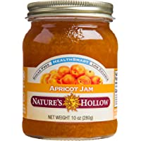 Nature's Hollow, Sugar-Free Apricot Jam Preserves, Non GMO, Keto Friendly, Vegan and Gluten Free - 10 Ounce