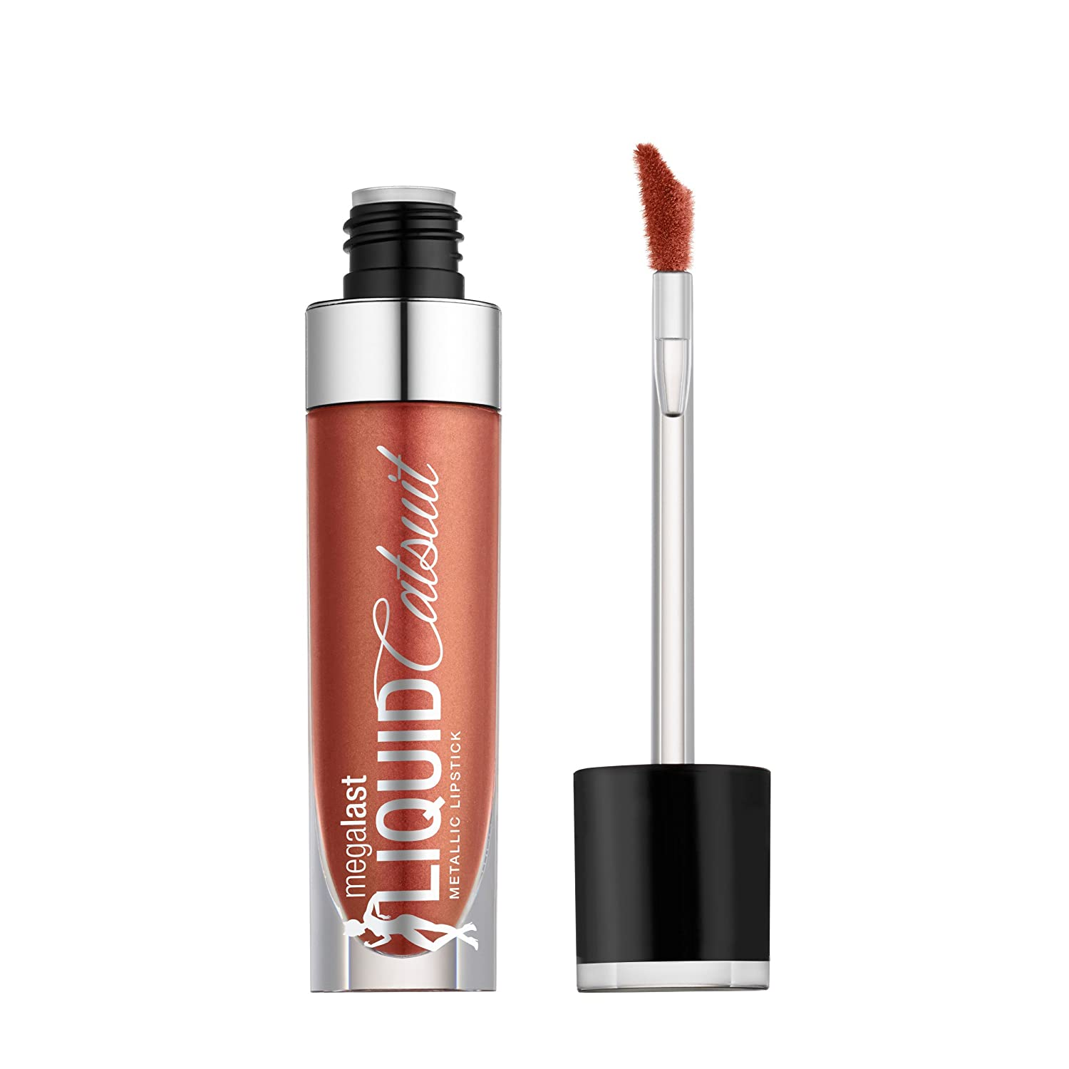 wet n wild Megalast Liquid Catsuit Metallic Lipstick, Bali in Love, 0.21 Ounce