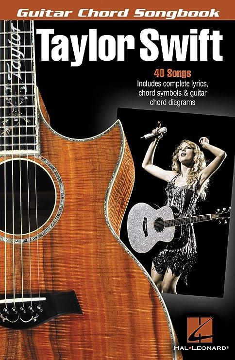 Amazon.com: Hal Leonard Taylor Swift - Guitar Chord Songbook: Hal ...
