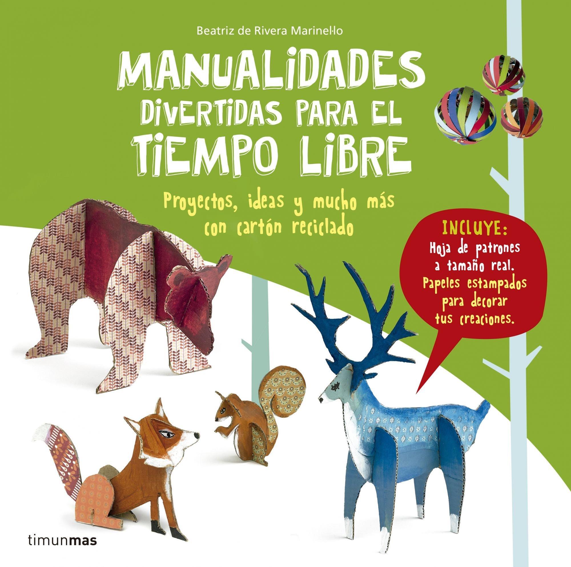 Manualidades divertidas para el tiempo libre (Spanish) Hardcover – 2016