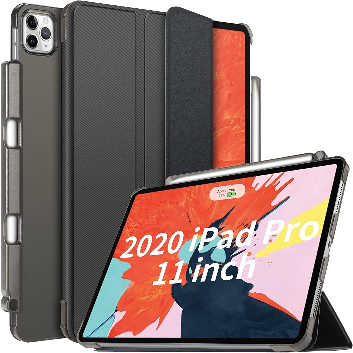 Ivso Case For New Ipad Pro 11 Inch 2020 2nd Generation With Pencil Holder Slim Ebay