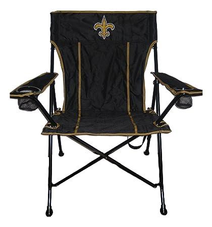 Amazon.com: New Orleans Saints Logo T2 Quad Silla plegable y ...