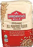 Arrowhead Mills Flour White Enriched Unbleached, 5-pounds (Pack of8)