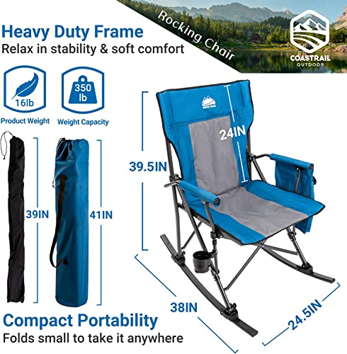Reviewed: Coastrail Outdoor Folding Rocking Chair