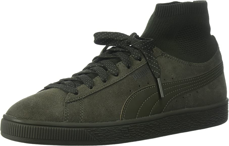 PUMA mens Suede Classic Sock Sneaker