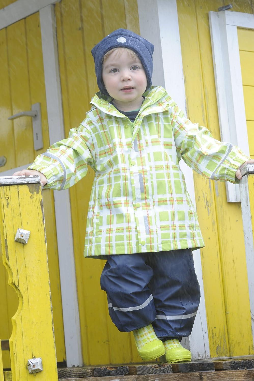 Playshoes Baby-Unisex Regenjacke Karo