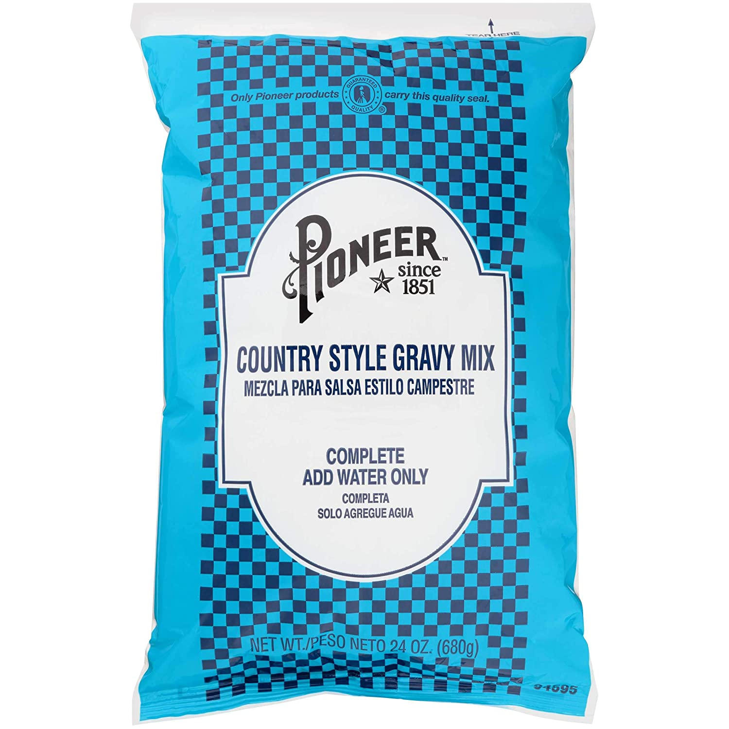Pioneer Foods Country Style Gravy Mix 24 Oz (6 Pack)